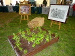Square foot gardening demonstration