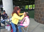 Facepainting for the kids
