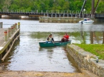 Attendees signed up to canoe on the Anacostia River