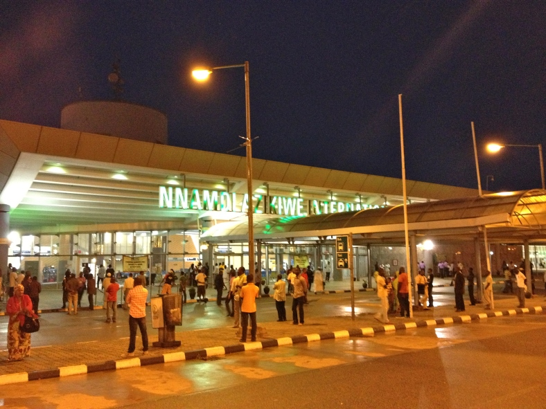 Welcome to Nigeria!  Abuja Airport