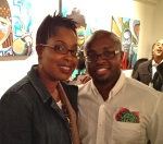 ThatKellieGirl and Fashion designer Chinedu Ukabam of the clothing label Chinedesign