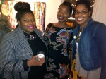 ThatKellieGirl and fellow blogger, Vivi Nmezi (L) of Heartprintandstyle.com and her sister Ngozi Nmezi (Ctr)