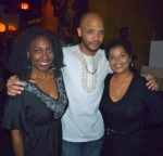 Karen Parker, DJ Stylus and Guest at Black President's Day Celebration