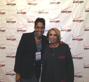 ThatKellieGirl and Cathy Hughes, Founder of Radio One and TV One