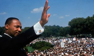 Martin Luther King in Washington DC.